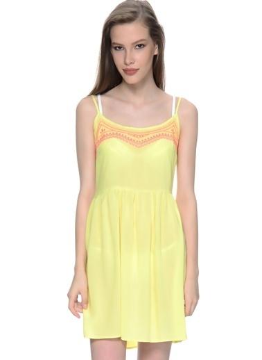 FREEMINDS Elbise Sarı